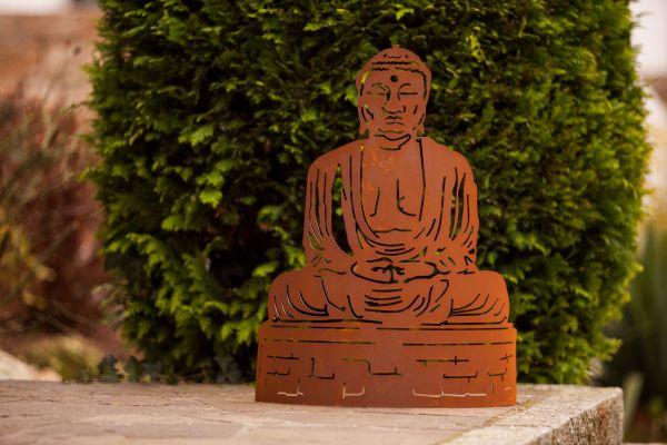 Buddha halbrund
