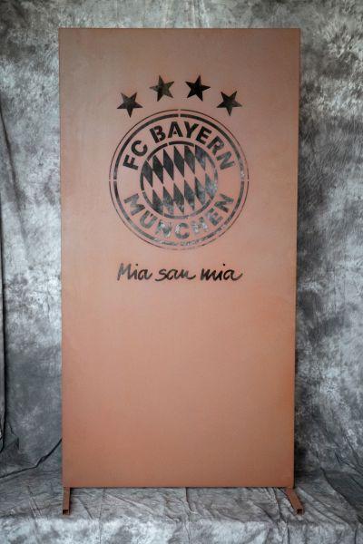 FC BAYERN-SICHTSCHUTZWAND