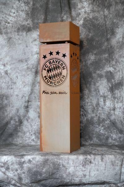 FC BAYERN -Säule