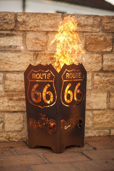 "Feuerkorb "" ROUTE 66 """